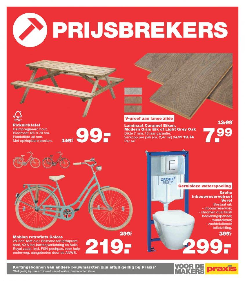 Picknicktafel Aanbieding Praxis.Praxis Folder 06 06 16 Pagina 20